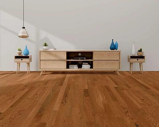 photo of White Oak Acorn hardwood flooring from our classic collection