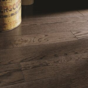 photo of Red Oak Black Pepper hardwood flooring from our classic collection