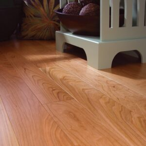 photo of American Cherry hardwood flooring from our classic collection
