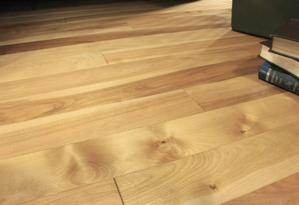 photo of Yellow Birch Coastal Clear hardwood flooring from our classic collection