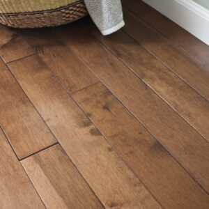 photo of Hard Maple Copper hardwood flooring from our Classic Collection