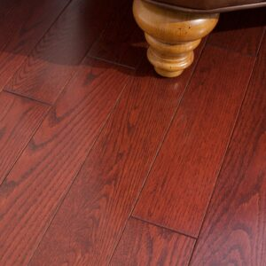 photo of Red Oak Cranberry hardwood flooring from our classic collection