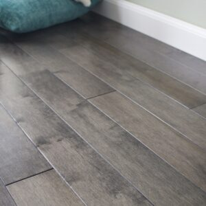 photo of Hard Maple Graphite hardwood flooring from our classic collection