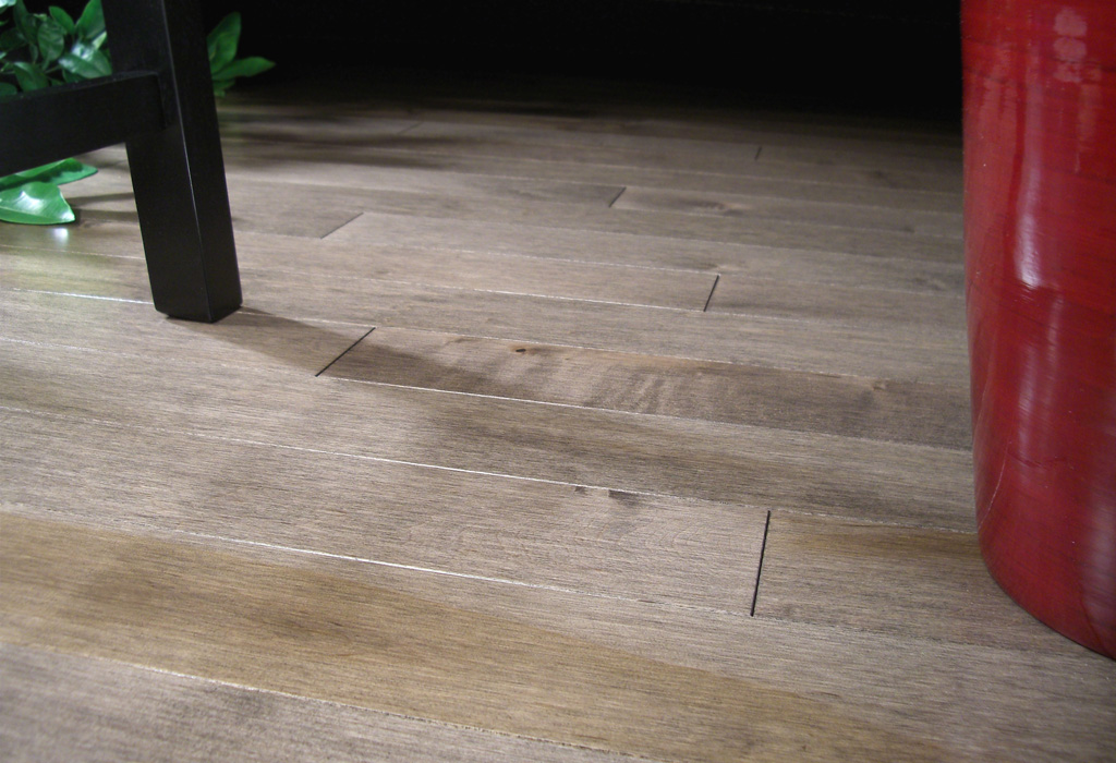 photo of Hard Maple Greystone hardwood flooring from our Classic Collection