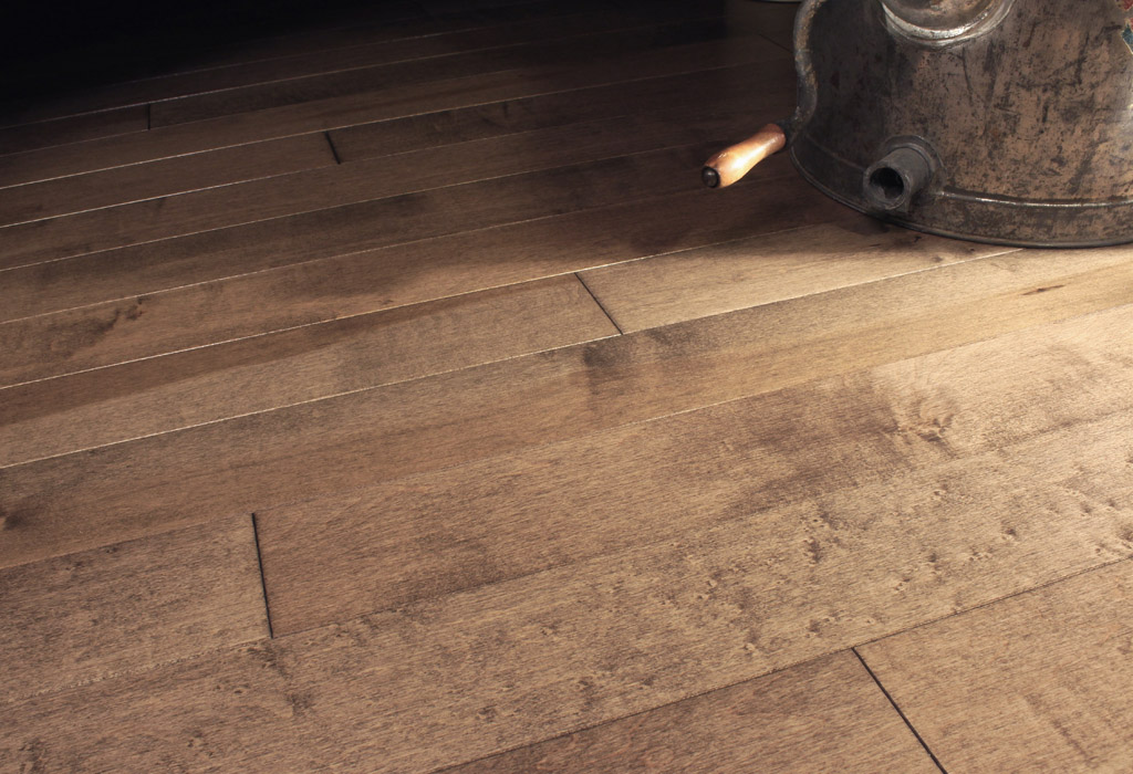 photo of Hard Maple Grizzly hardwood flooring from our classic collection
