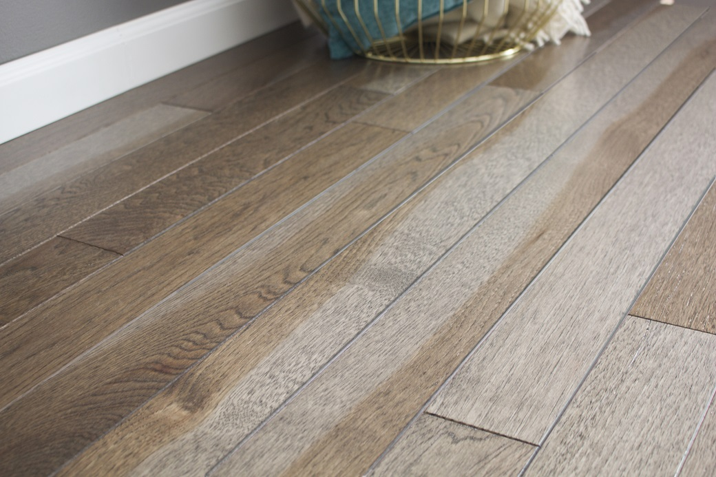 photo of Hickory Heather hardwood flooring from our Classic Collection