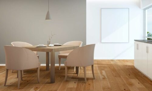 "photo of 7 1/2"" Engineered Hickory Adrift hardwood flooring from our Camden collection"