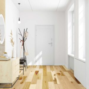 """photo of 7 1/2"""" Engineered Hickory Clear hardwood flooring from our Camden collection"""