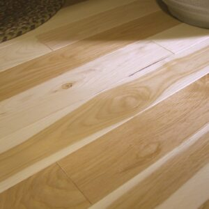 photo of Hickory Natural hardwood flooring from our classic collection