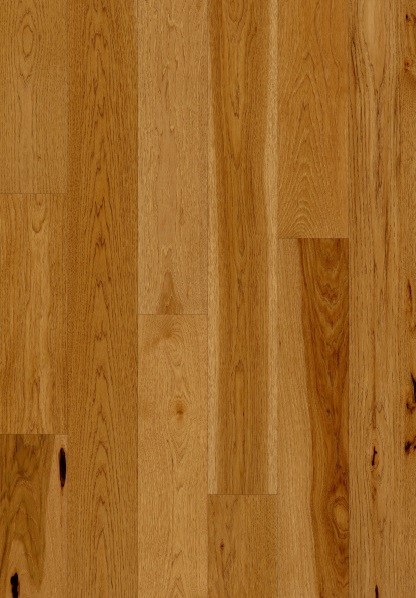 """up close photo of 7 1/2"""" Engineered Hickory Shoreline hardwood floor from our Camden collection"""
