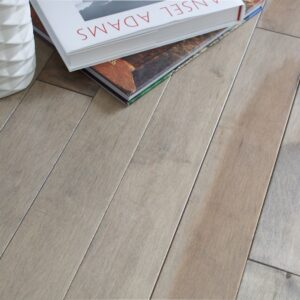 photo of Hard Maple Pebble hardwood flooring from our Classic Collection