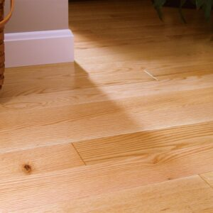 photo of Red Oak Coastal Clear hardwood flooring from our classic collection