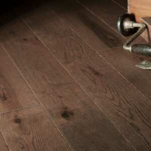 """photo of 5"""" Red Oak Livesawn Moose hardwood flooring from our Rangeley collection"""