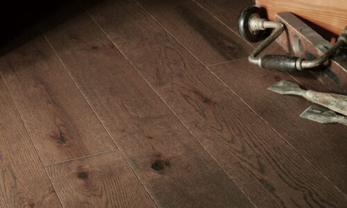 "photo of 5"" Red Oak Livesawn Moose hardwood flooring from our Rangeley collection"