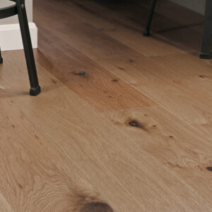 """photo of 7 1/2"""" Engineered White Oak Sandstone hardwood flooring from our Camden collection"""