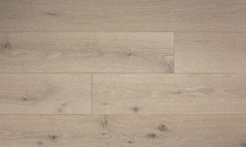 up-close photo swatch of sea salt hardwood flooring from our Camden collection