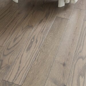photo of Red Oak Stone hardwood flooring from our classic collection