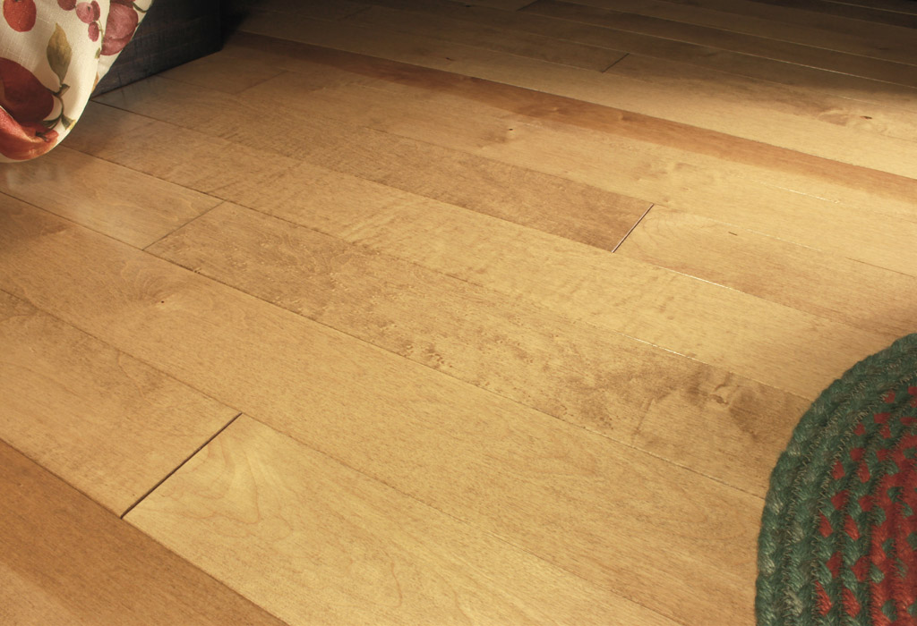 photo of Hard Maple Toast hardwood flooring from our Classic Collection