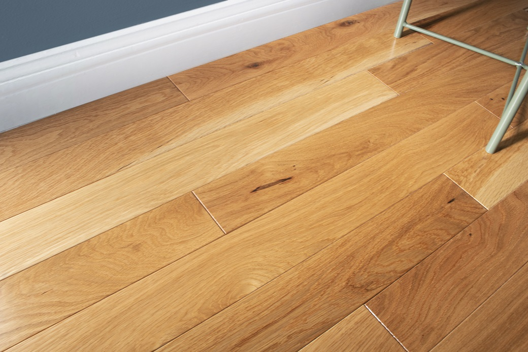 photo of White Oak Coastal hardwood flooring from our classic collection