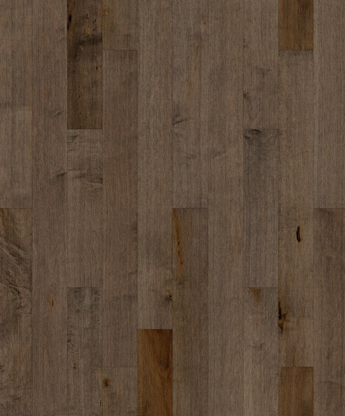 """up-close photo of 4"""" Hickory Formula 16 hardwood flooring from our 207 collection"""