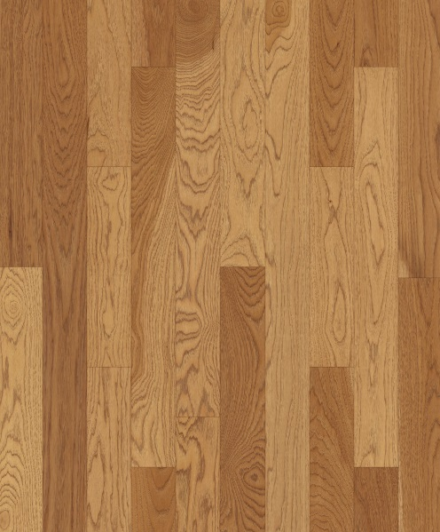 """up-close photo of 4"""" Hickory Formula 95 hardwood flooring from our 207 collection"""