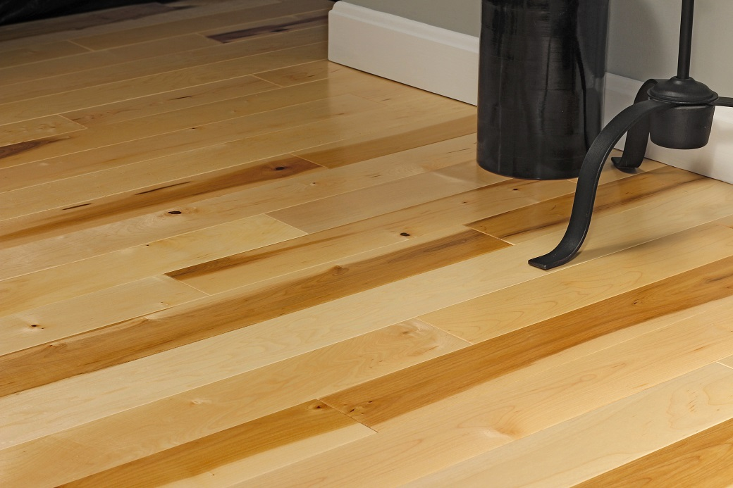 photo of Hard Maple Clear hardwood flooring from our Pro collection