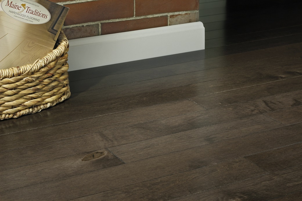 photo of Hard Maple Sierra hardwood flooring from our Pro collection