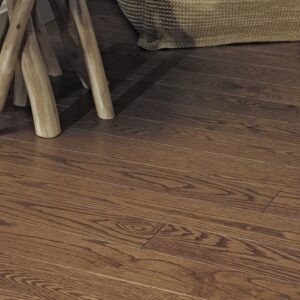 photo of Red Oak Butterscotch hardwood flooring from our Pro collection