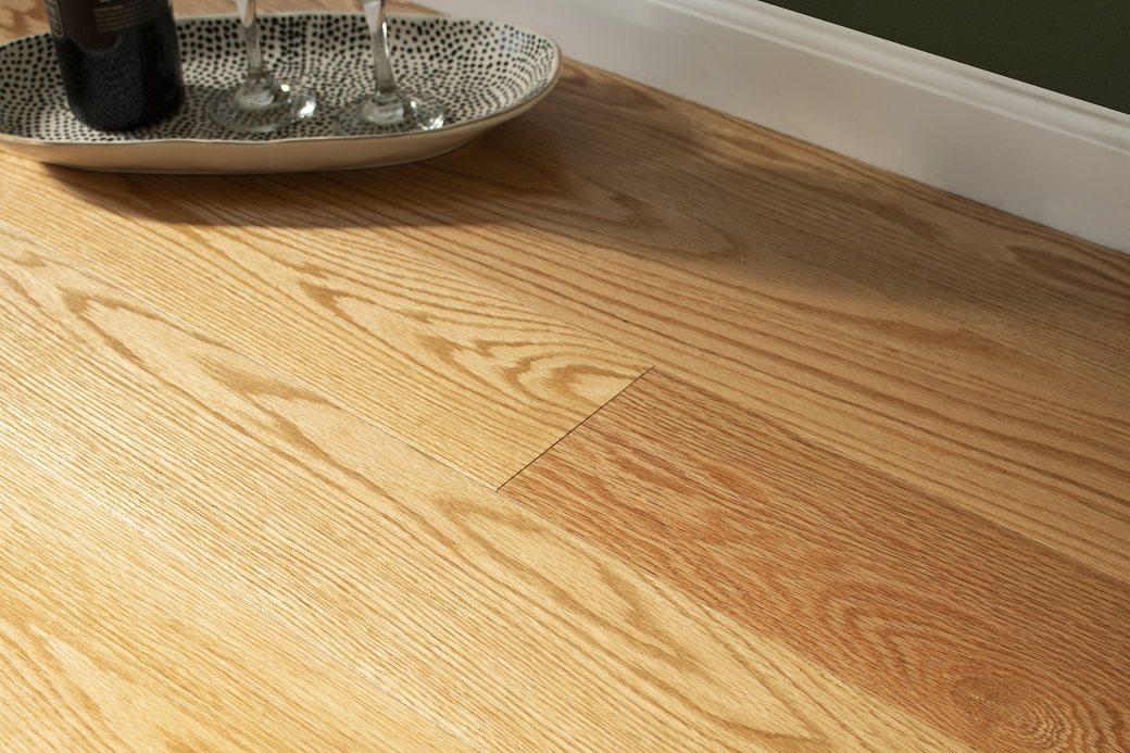 """photo of Engineered 5"""" Red Oak Premium Grade Clear Finish from our Freeport collection"""