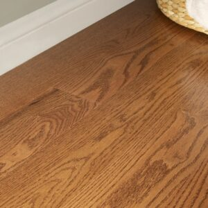 """photo of Engineered 5"""" Red Oak Coastal Grade Suede Finish from our Freeport collection"""