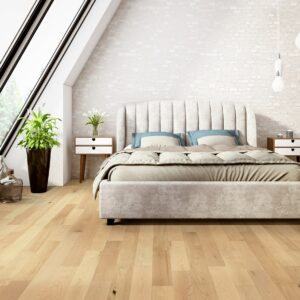 """photo of Engineered 5"""" Hard Maple Coastal Grade Clear Finish hardwood flooring from our Freeport collection"""