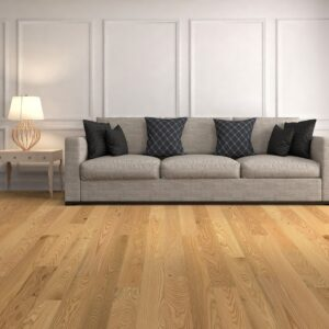 """photo of Engineered 5"""" Red Oak Coastal Grade Clear Finish hardwood flooring from our Freeport collection"""